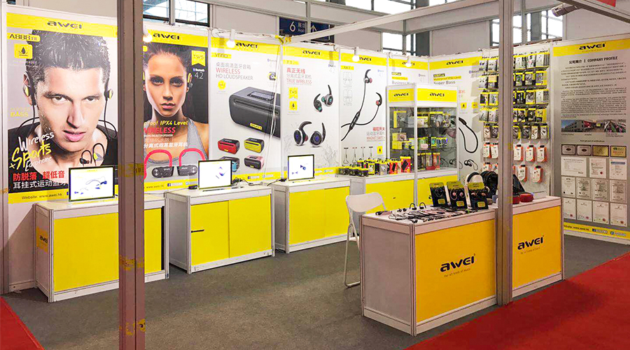 AWEI Participate the Shenzhen International E-Commerce Purchasing Expo of Consumer Electronics